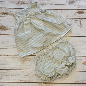 Gymboree Infant Girl Top and Bloomers Set